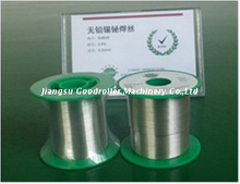 low Melting Point SnBi Welding Wire